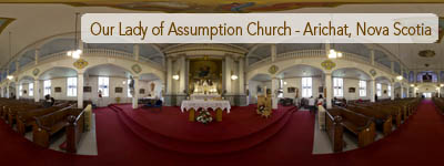 Our Lady of Assumption Church, Arichat, Nova Scotia