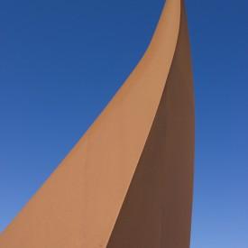 Sculpture on 211 Highway
