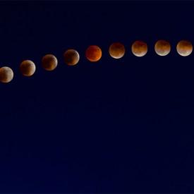 Lunar Eclipse 2015 Composite