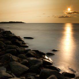 Sunset at Port Hood Beach